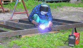 konstrucje stalowe - spawacz